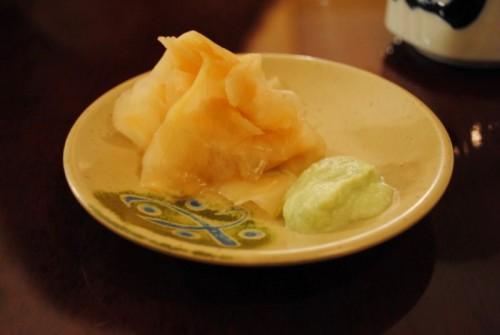 ginger wasabi 500x335 Sushi Sasabune   3/15/10