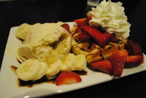 waffle2 500x335 Syrup Desserts   3/25/10