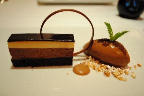 chocolate fondant 500x335 Melisse   4/22/10