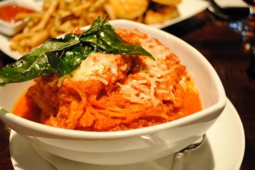 spaghetti 500x335 Haven Gastropub   4/8/10