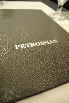 menu 224x335 Petrossian   6/18/10