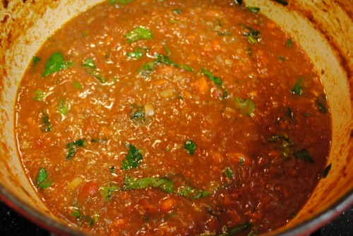 sauce 500x335 Pasta   6/1/10