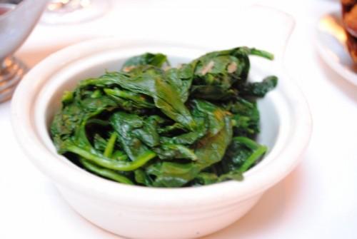spinach 500x335 Porterhouse Bistro   6/10/10