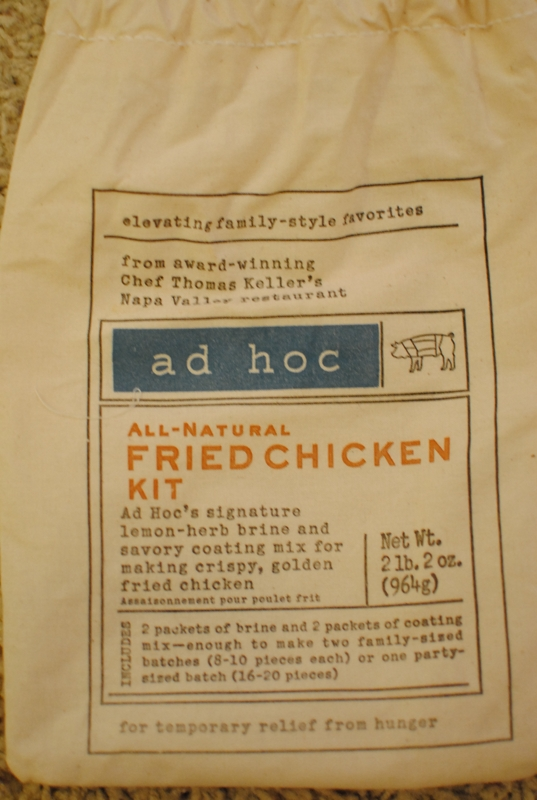ad hoc mix Ad Hoc Fried Chicken   8/1/10