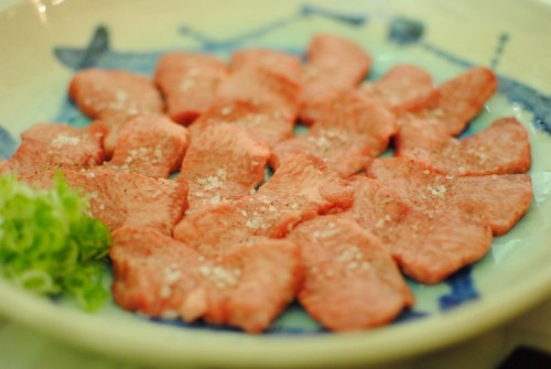 beef tongue 500x335 Totoraku   8/7/10