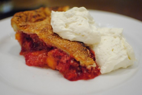 peach raspberry pie 500x335 Animal   8/21/10
