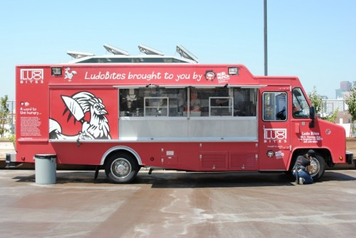 truck arrival 500x335 LudoBites Truck   8/14/10
