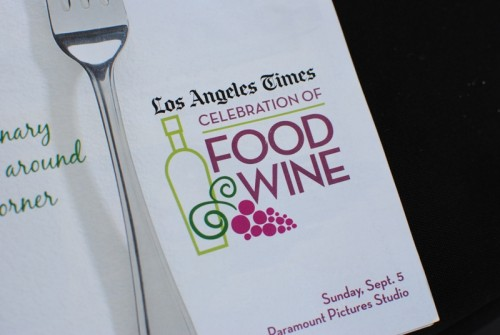 brochure 500x335 LA Times Celebration of Food & Wine   9/5/10