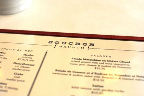 menu1 500x335 Bouchon   9/26/10