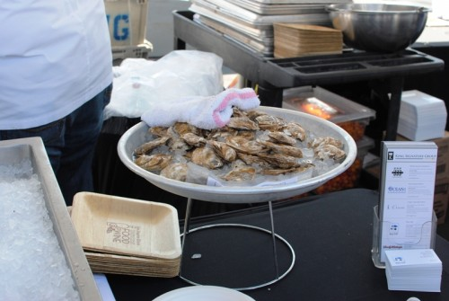oysters 500x335 LA Times Celebration of Food & Wine   9/5/10