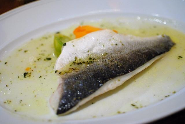 La botte 10 15 10 darin dines for What is branzino fish