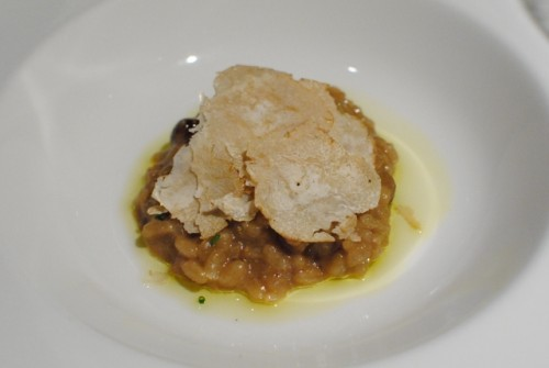 white truffle 500x335 Saam Room at the Bazaar   10/22/10