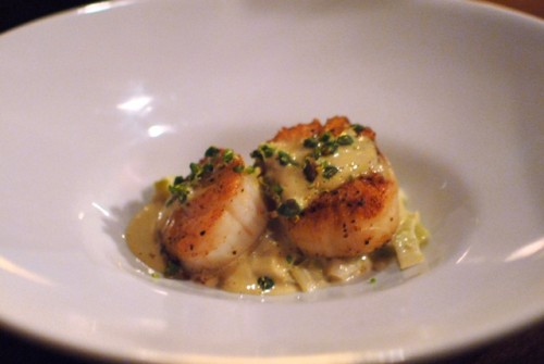 scallops 500x335 Test Kitchen: Alain Giraud   11/4/10
