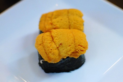 uni 500x335 SugarFish Downtown   11/6/10