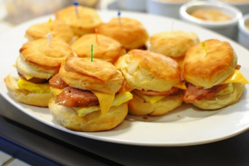 breakfast sliders 500x335 Christmas 2010   12/25/10