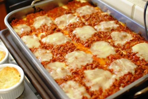 lasagna 500x335 Christmas 2010   12/25/10