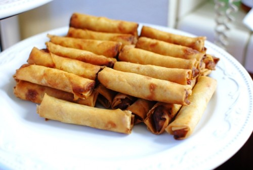 pork lumpia 500x335 Christmas 2010   12/25/10