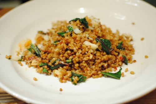 crab farro 500x335 Bar Agricole   1/8/11
