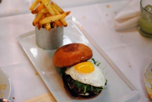 truffle burger 500x335 Fraiche   12/16/10