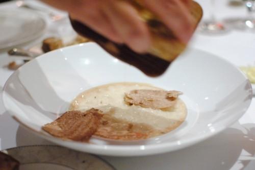 white truffle risotto 500x335 Masas   12/29/10