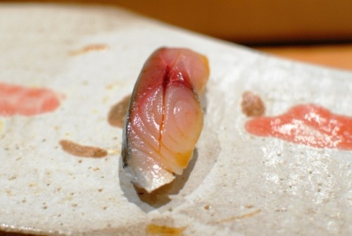 jap mackerel 500x335 Mori Sushi (Los Angeles, CA)