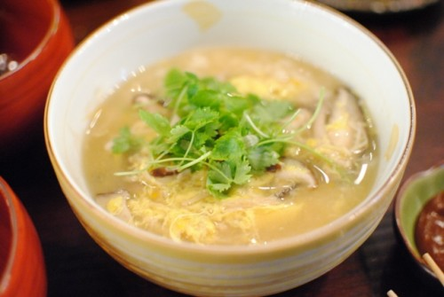 kinoko zosui porridge 500x335 Aburiya Toranoko (Los Angeles, CA)