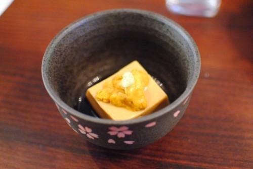 uni goma tofu 500x335 Aburiya Toranoko (Los Angeles, CA)