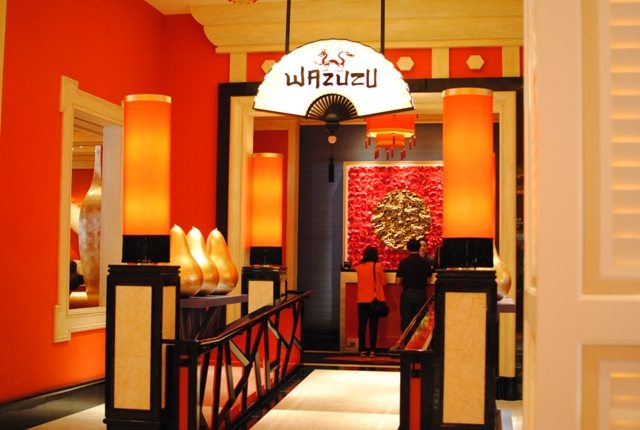 Wazuzu las vegas nv darin dines for Asian cuisine las vegas