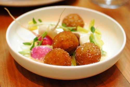 arancini 500x335 Cafe Boulud @ Animal (Los Angeles, CA)