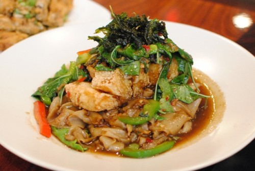 sea bass drunken noodles 500x335 Lotus of Siam (Las Vegas, NV)