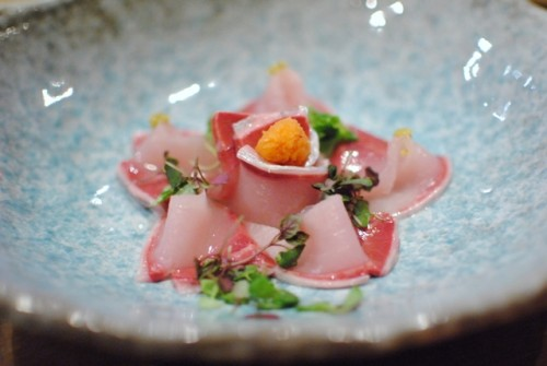yellowtail carpaccio 500x335 Raku (Las Vegas, NV)