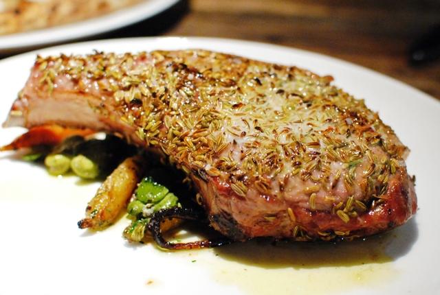 fennel pork chop