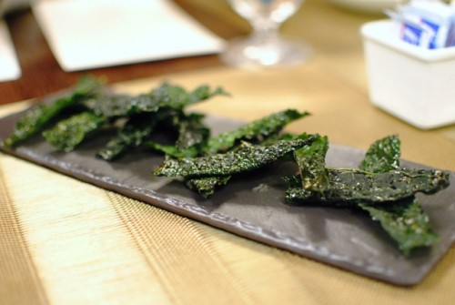 kale chips 500x335 The Restaurant at Rancho Valencia (San Diego, CA)
