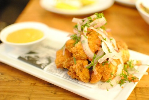 chicharron de pollo 500x335 Picca (Los Angeles, CA)