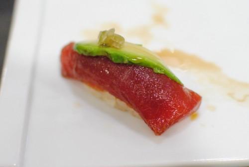 marinated tuna 500x335 Sushi Nozomi (Torrance, CA)