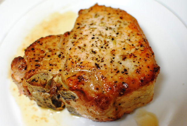 pork chops add them into the pan in a pork chop than one pan pan ...