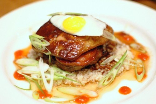 foie gras loco moco 500x335 Animal (Los Angeles, CA)