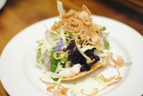 hamachi tostada 500x335 Animal (Los Angeles, CA)
