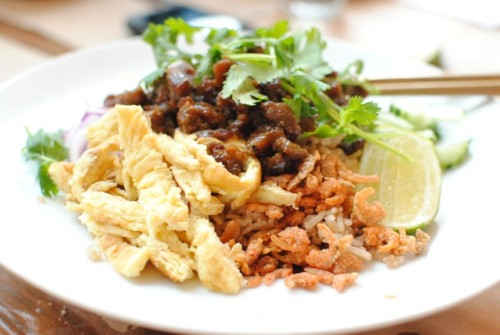 shrimp paste seasoned rice 500x335 Night + Market (West Hollywood, CA)