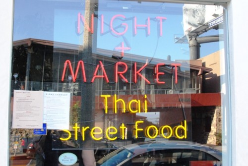 signage 500x335 Night + Market (West Hollywood, CA)
