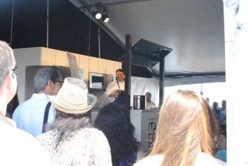 cooking demo 500x335 The Taste: Secrets from the Kitchen & Cellar (Los Angeles, CA)